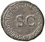 Germanico (padre di Caligola) Asse - Testa a ...