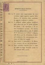 Banca Agricola Sarda - Certificato per una ...