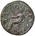 Caligola (37-41) Asse - Testa a s. - R/ ...