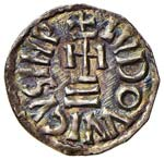 BENEVENTO Ludovico e Angilberga (871) Denaro ...