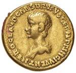 Claudio (41-54) Aureo - Testa laureata a d. ...