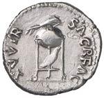 Vitellio (69 d.C.) Denario - Testa laureata ...