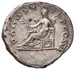 Vespasiano (69-79) Denario - Testa laureata ...