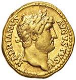 Adriano (117-138) Aureo ...