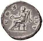 Adriano (117-138) Denario - Testa laureata a ...