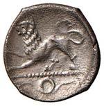 CAMPANIA Phistelia Obolo (325-275 a.C.) ...