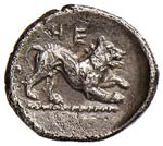 LUCANIA Heraclea Diobolo (433-400 a.C.) ...