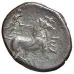 SIRACUSA Bronzo (289-287 a.C.) Anepigrafo. ...