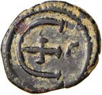 BISANZIO Giustino I (518-527) Pentanummo ...