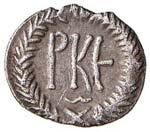 BISANZIO Giustiniano I (527-565) 125 Nummi ...