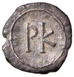 BISANZIO Giustiniano I (527-565) 120 Nummi ...