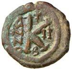 BISANZIO Maurizio Tiberio (582-602) Mezzo ...