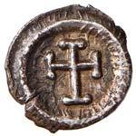 Eraclio (610-641) Mezza siliqua (Ravenna) ...