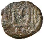BISANZIO Costanzo II (641-668) Follis ...
