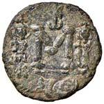 BISANZIO Costantino IV (668-680) Follis ...