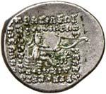 PARTIA Orodes II (57-38 a.C.) Dracma - Busto ...