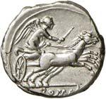 REPUBBLICA ROMANA Anonime - Denario (157-156 ...