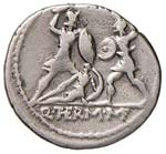 REPUBBLICA ROMANA Minucia Denario (103 a.C.) ...