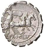 ROMA REPUBBLICA Procilia - Denario (79 a.C.) ...
