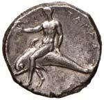 CALABRIA Taranto Didramma (302-231 a.C.) ...