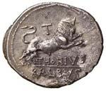 REPUBBLICA ROMANA Thoria Denario (106 a.C.) ...