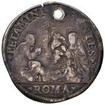 Gregorio XIII (1572-1585) Testone - Munt. 36 ...
