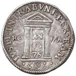 Gregorio XIII (1572-1585) Testone 1575 - CNI ...