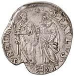 Paolo V (1605-1621) Testone A. II - Munt. 76 ...