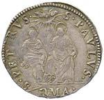 Urbano VIII (1623-1644) Testone A. VI - ...