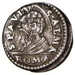 Innocenzo X (1644-1655) Mezzo grosso - Munt. ...