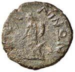 SICILIA Entella AE (dopo il 211 a.C.) Busto ...