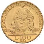 Pio XII (1939-1958) 100 Lire 1944 A. VI - ...
