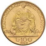 Pio XII (1939-1958) 100 Lire 1949 A. XI - ...