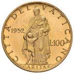Pio XII (1939-1958) 100 Lire 1952 A. XIV - ...