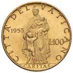 Pio XII (1939-1958) 100 Lire 1953 A. XV - ...