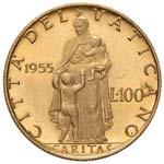 Pio XII (1939-1958) 100 Lire 1955 A. XVII - ...