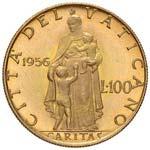 Pio XII (1939-1958) 100 Lire 1956 A. XVIII - ...