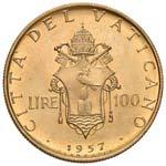 Pio XII (1939-1958) 100 Lire 1957 A. XIX - ...
