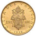 Pio XII (1939-1958) 100 Lire 1958 A. XX - ...