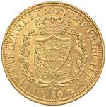 Carlo Felice (1821-1831) 80 Lire 1825 T - ...