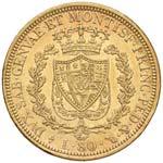 Carlo Felice (1821-1831) 80 Lire 1828 T L - ...