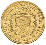Carlo Felice (1821-1831) 40 Lire 1825 T - ...