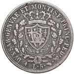 Carlo Felice (1821-1831) 5 Lire 1821 T - ...