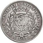 Carlo Felice (1821-1831) 5 Lire 1825 G - ...