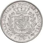 Carlo Felice (1821-1831) 5 Lire 1829 G - ...