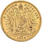 AUSTRIA Franz Joseph (1848-1916) 10 Corone ...