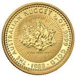 AUSTRALIA 15 Dollari 1988 Nugget 1/10 OZ - ...