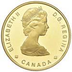 CANADA 100 Dollari 1985 ...