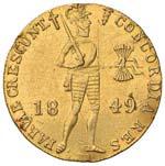 OLANDA Ducato 1849 - Fr. ...