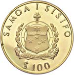 SAMOA SISIFO 100 Dollari ...